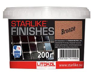 Декоративная добавка бронзового цвета STARLIKE® FINISHES BRONZE 200г