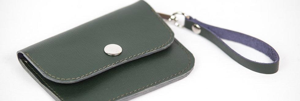 Кожаный кошелёк на пояс
