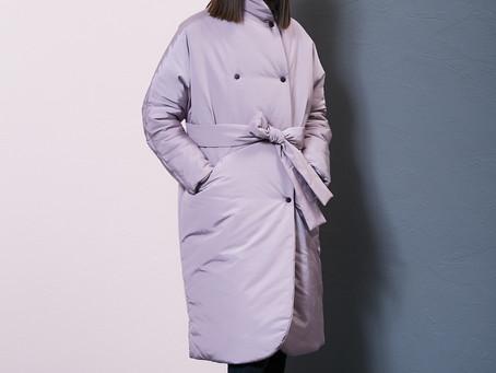 Пуховик-пальто теплый для сильных морозов | Интернет-магазин Am'Werkstatt