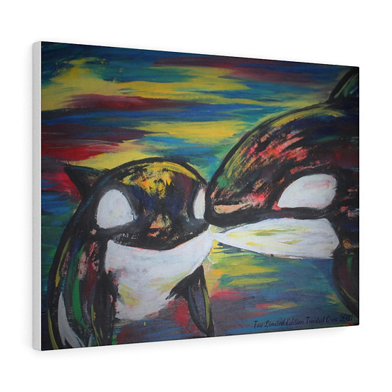 Proceeds Donated: Remembering Toa Original Art Print Canvas Gallery Wrap