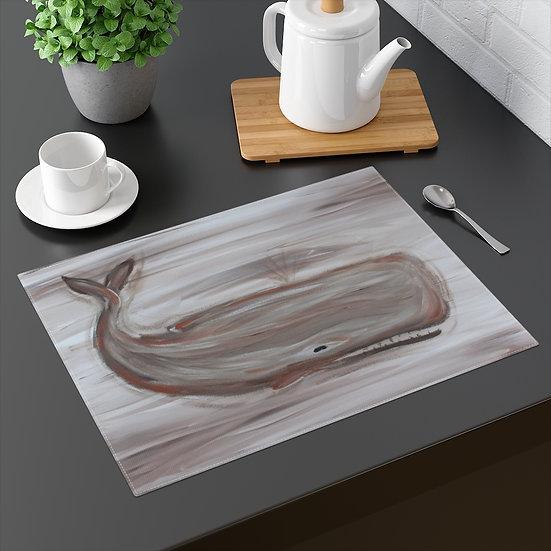 Original Art Sperm Whale Placemat