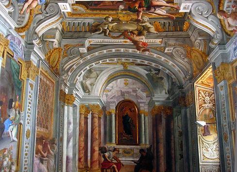 Andrea Pozzo - Casa Professa del Gesù a Roma.
