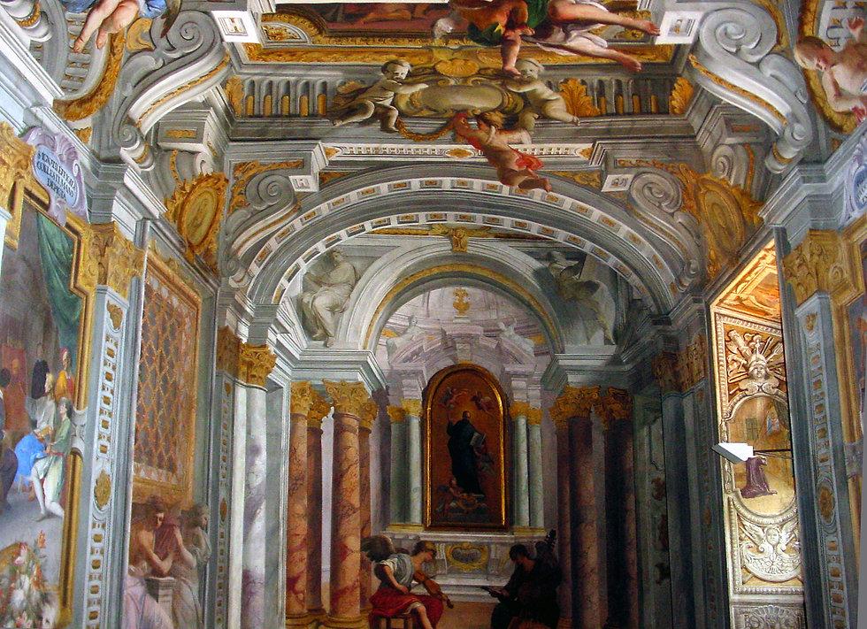 Andrea Pozzo - casa Professa del Gesù a Roma. Ph Marcello Toma