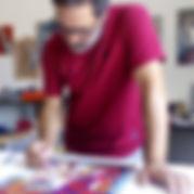 Marcello Toma in studio