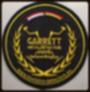 Garrett Patch - metaldetector users Holland - Belgie