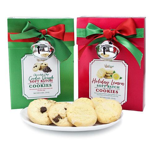 (12) Metallic Paper Cookie Gift Box