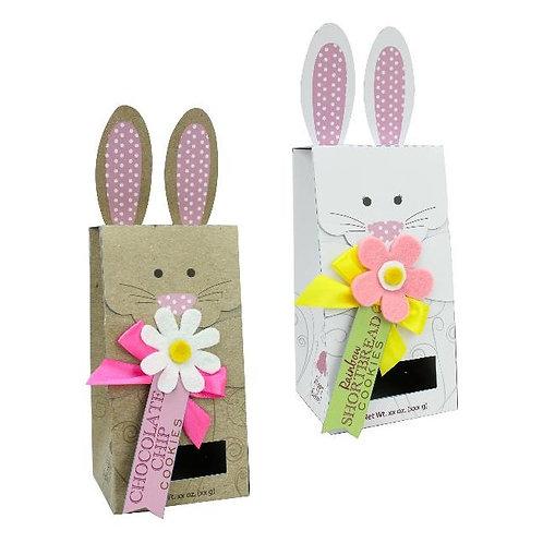 Kraft Bunny Gift Boxes