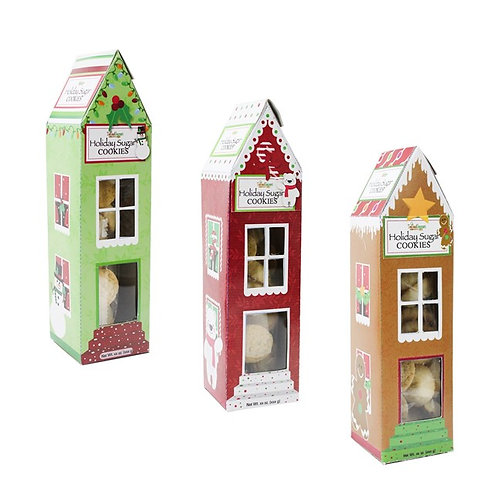 (12) Gingerbread Houses