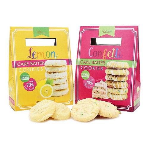 (12) Springtime Cake Batter Cookies
