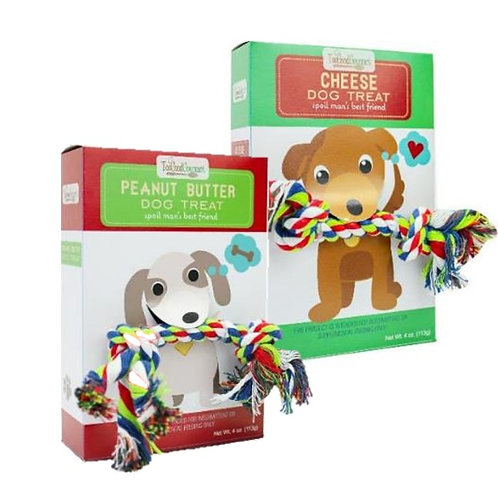 (12) Dog Treat Rope Gifts
