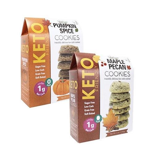 (12) Fall Harvest Keto-Friendly Cookies