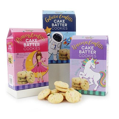 Fantasy Cake Batter Cookies