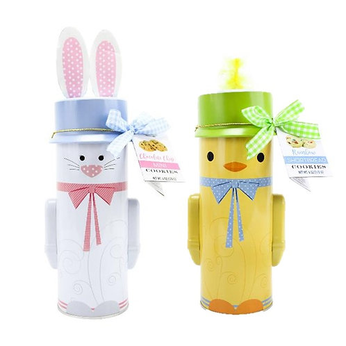 (12) Easter Character Tins