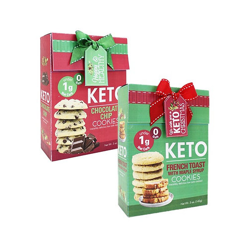 (12) Holiday Keto Cookies