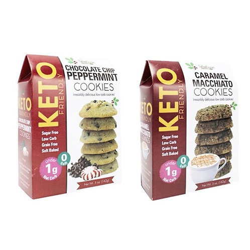 (12) Festive Keto Cookies