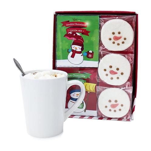 (6) Marshmallow Snowman Cocoa Gift Set