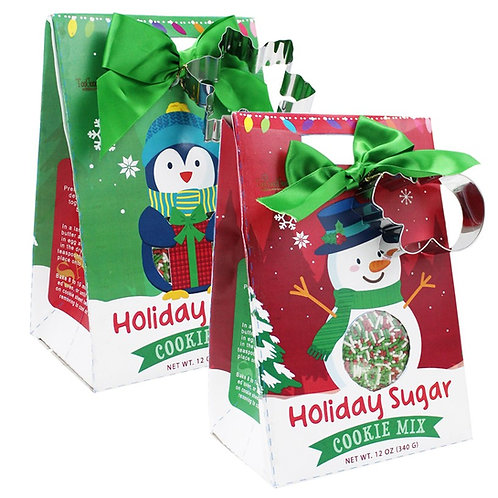 Holiday Cookie Mix w/ Sprinkles & Cutter