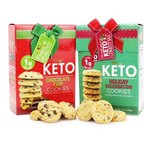 Holiday Keto Cookies