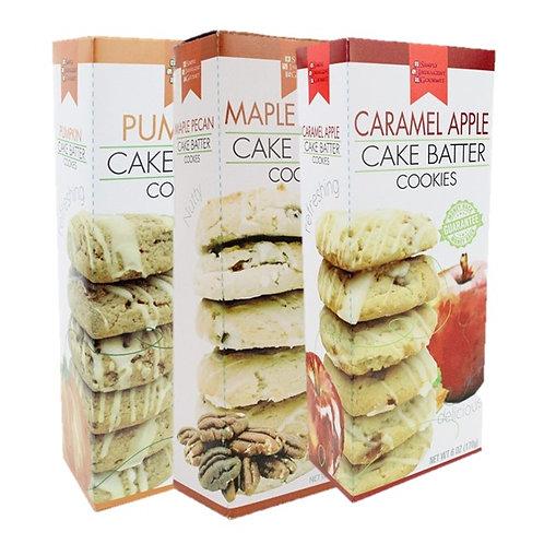 (12) Fall Cake Batter Cookies