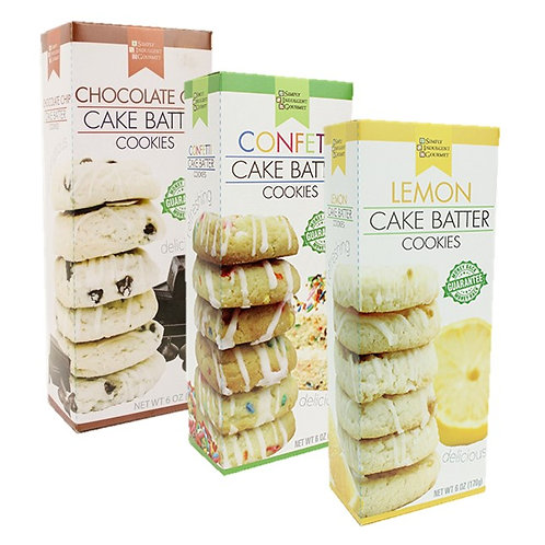 (12) Cake Batter Cookies