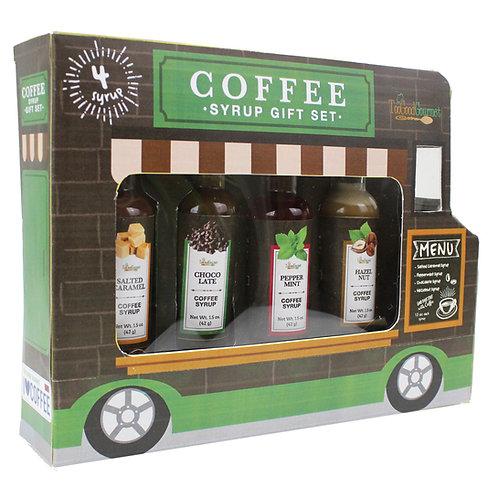 (6) Coffee Syrup Set