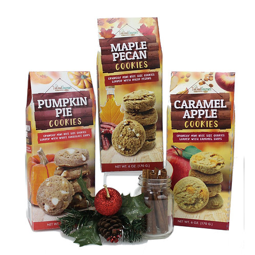 (12) Bite Sized Flavors of Fall