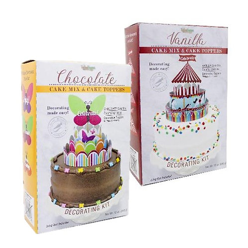(12) DIY Cake Decorating Kit