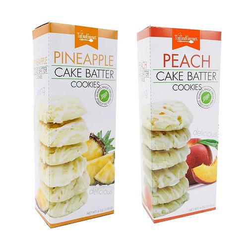 Tropical Cake Batter Cookies