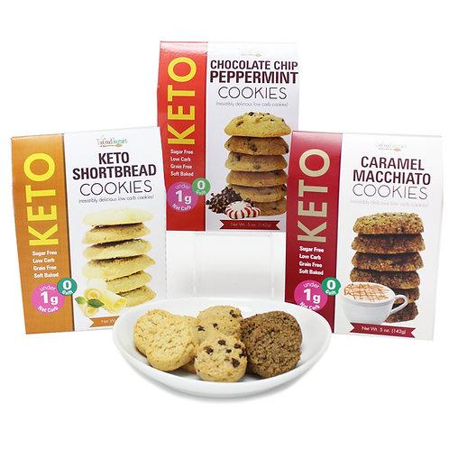 Festive Keto Cookies
