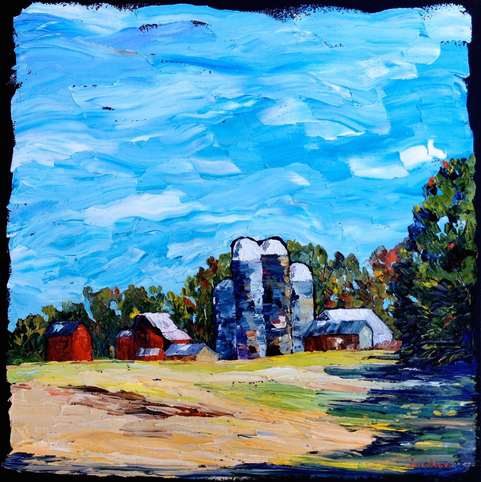 2. farm on a ridge 24x24