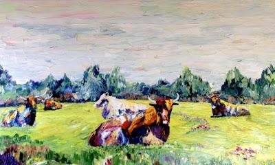 Oklahoma Cowscape
