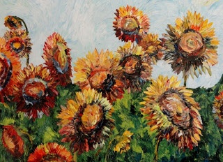 April Sunflowers