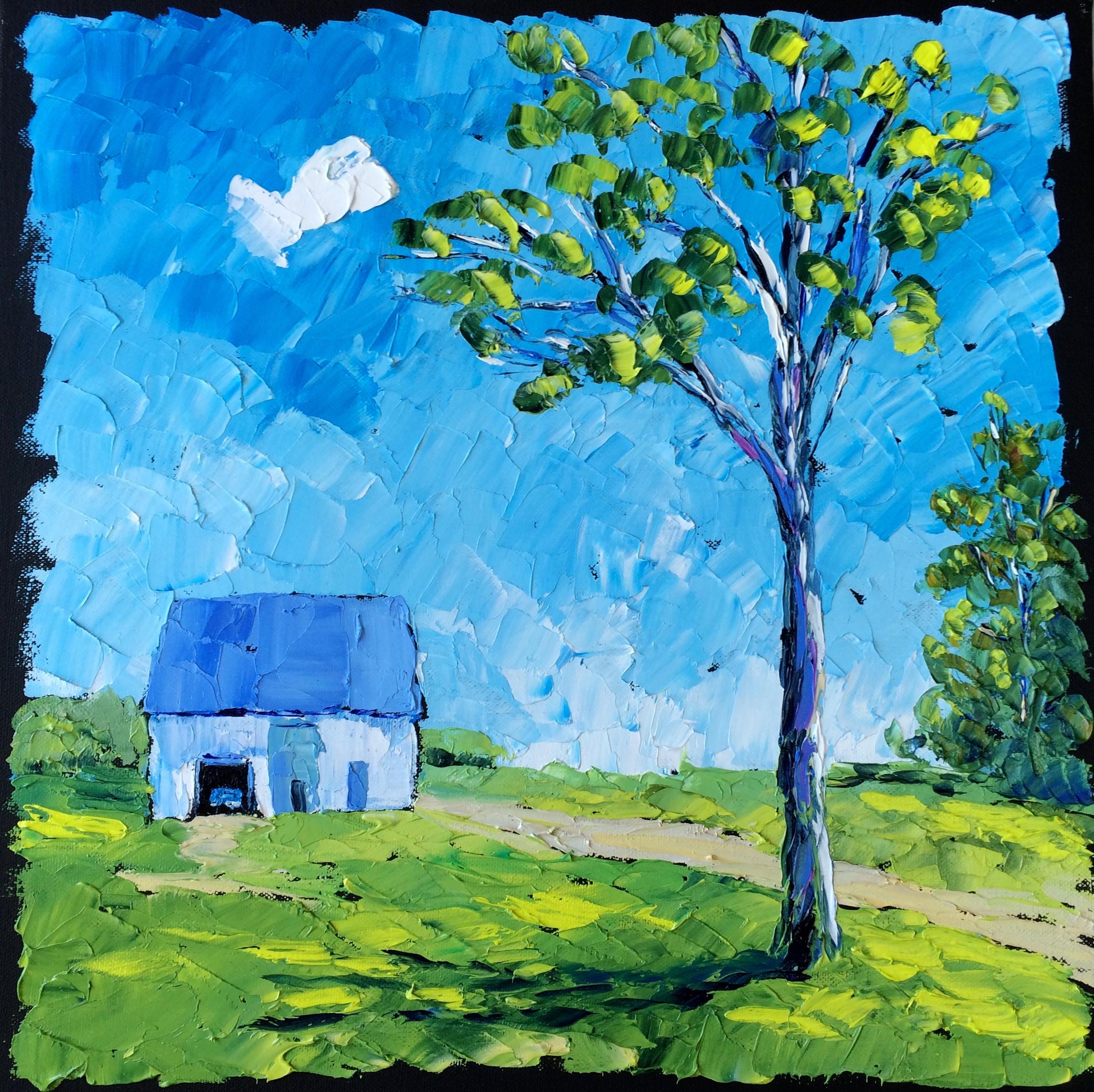 31. 160516 Blue Canada 16x16