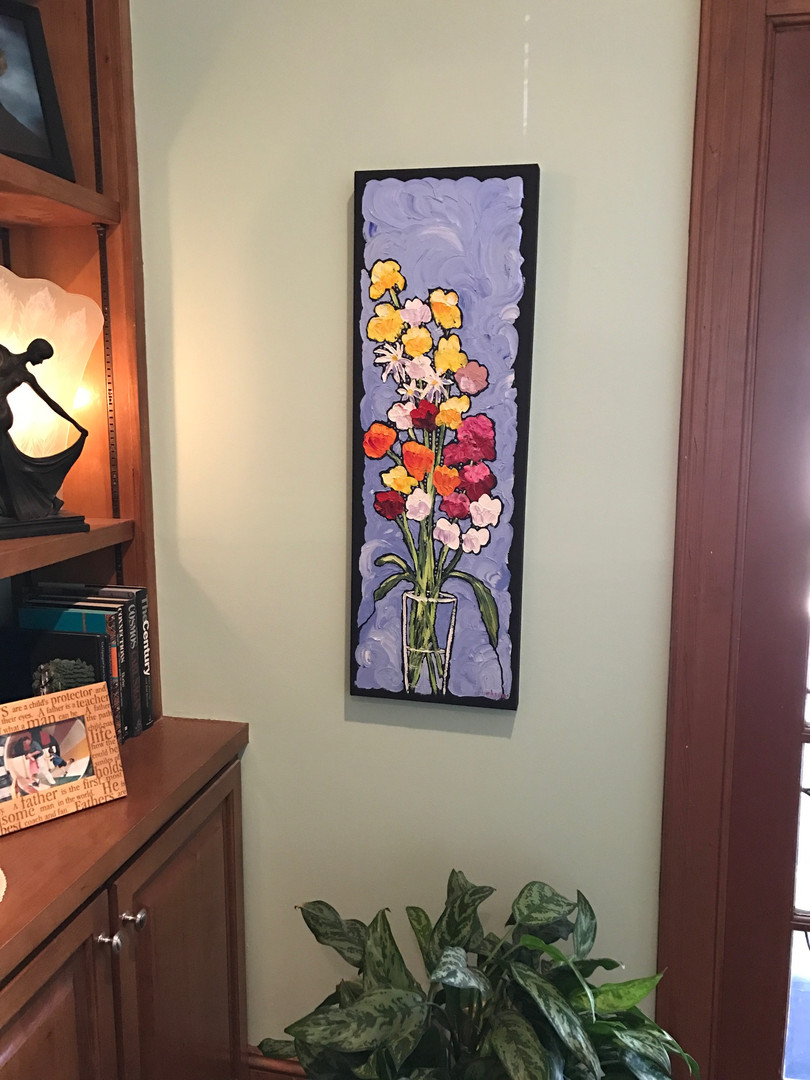 Flowers on the Wall