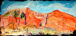 16.150218 sunset rocks 24x48