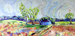 150512 williamsburg morning 24x48