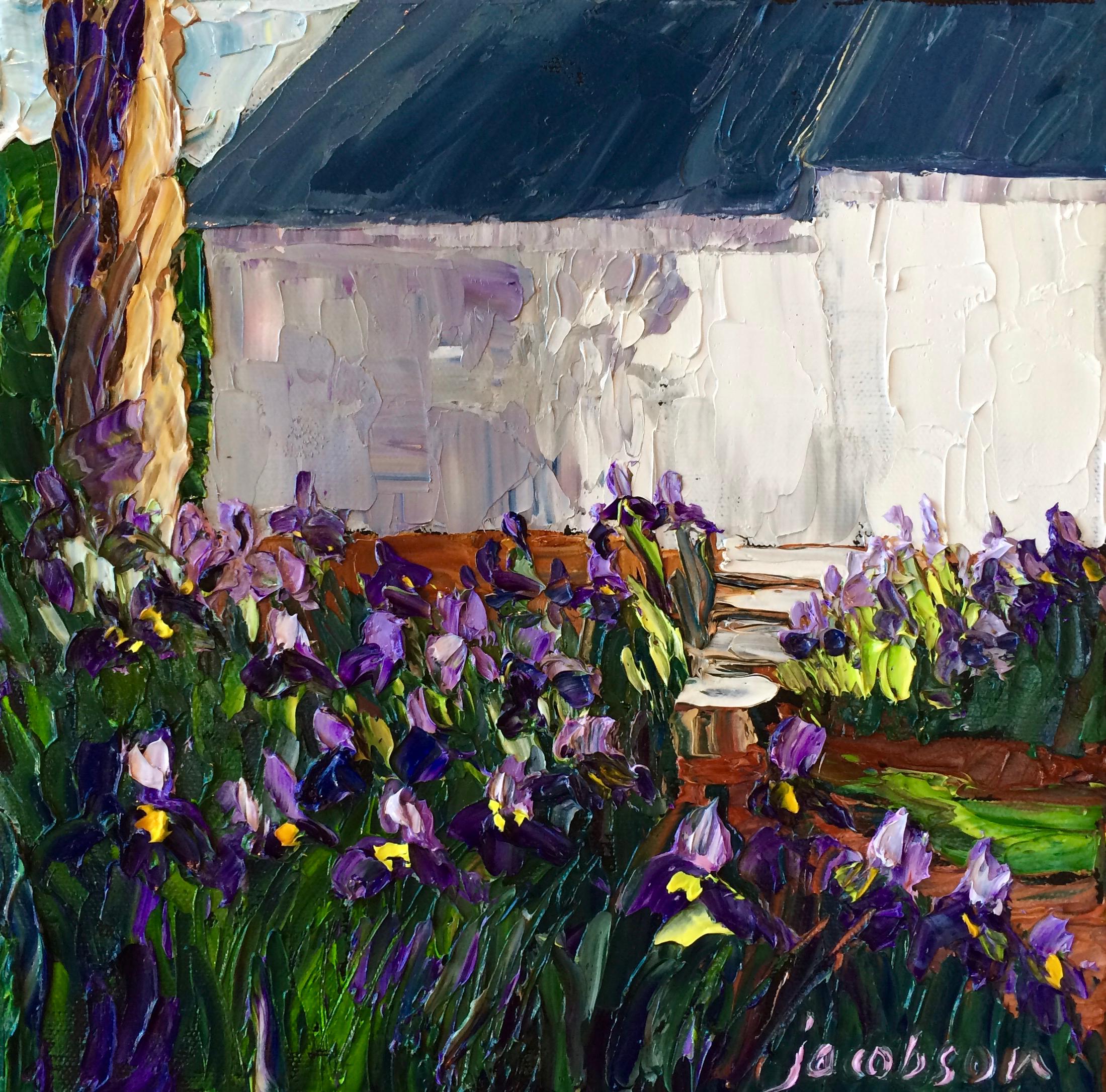 W170901 iris garden