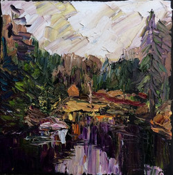 10-24 painting XX  woodford VT