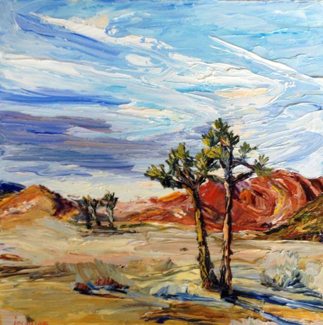 H Joshua Tree 18x18