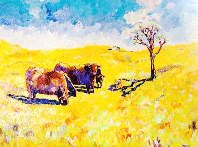170510 four cows 36x48