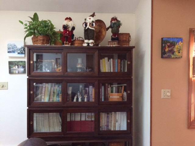 Both Sides of the Bookcase