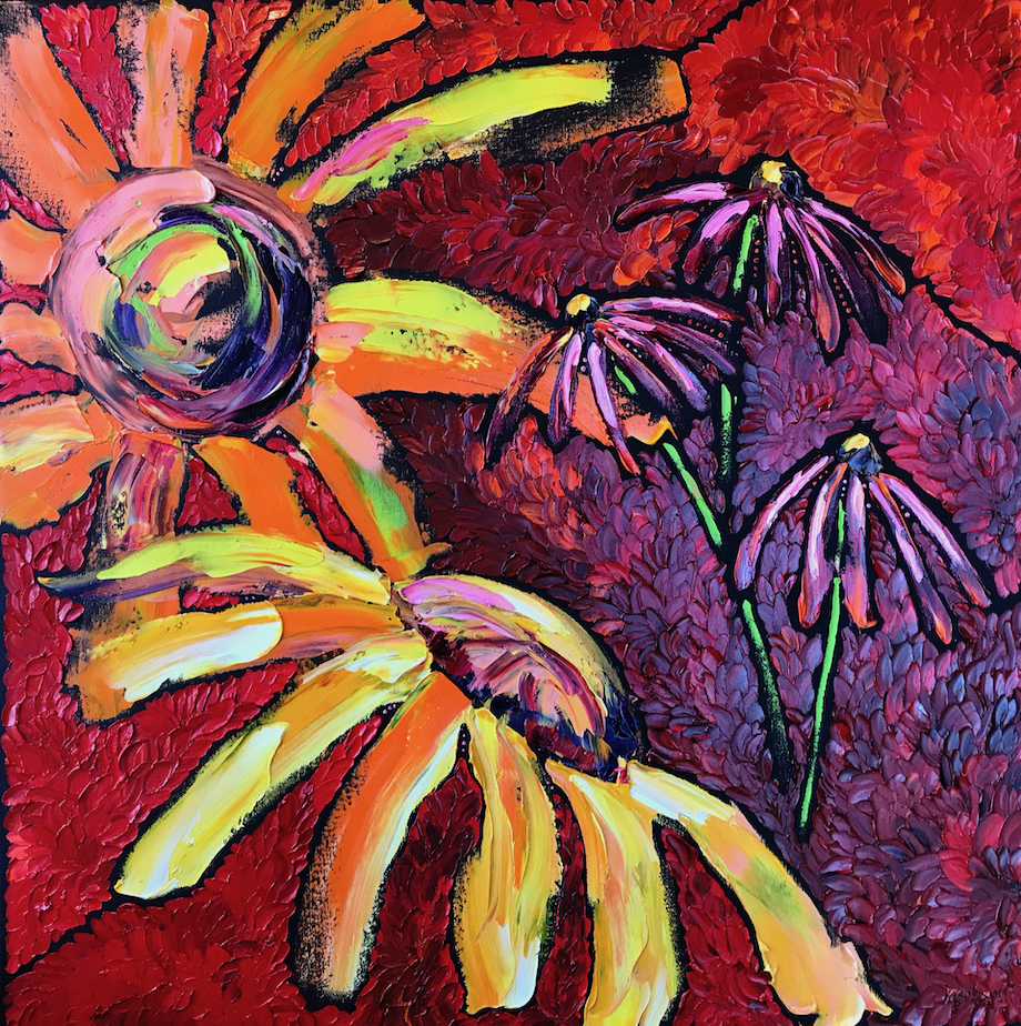 190101 new year sunflowers 30x30 smaller