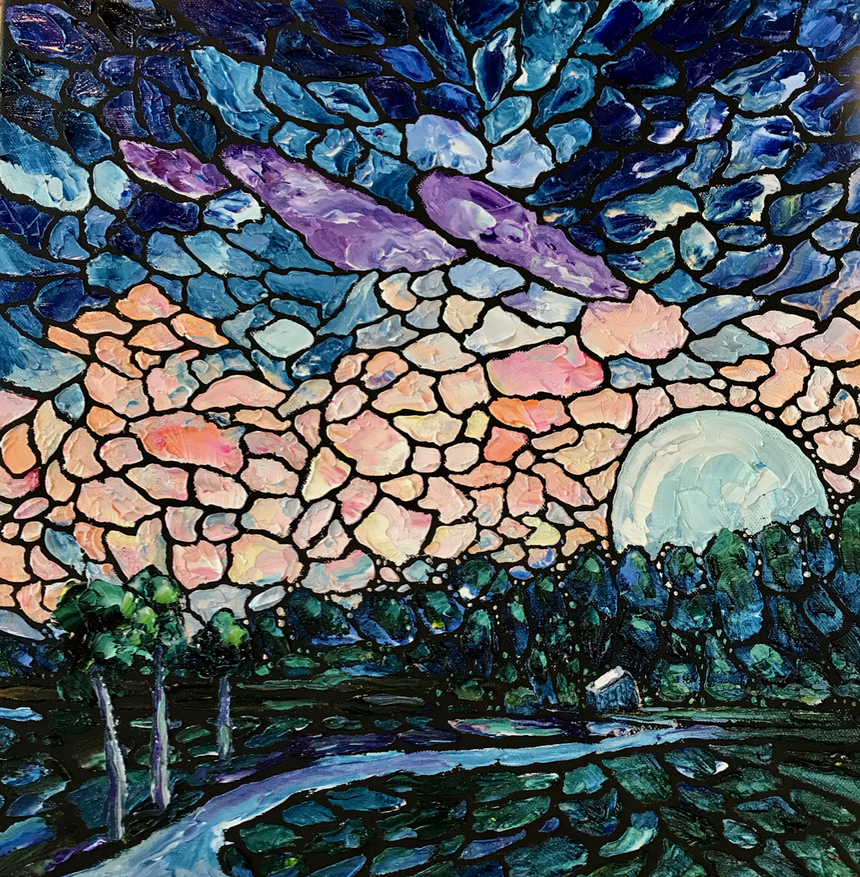 181225 moonrise 16x16 smaller