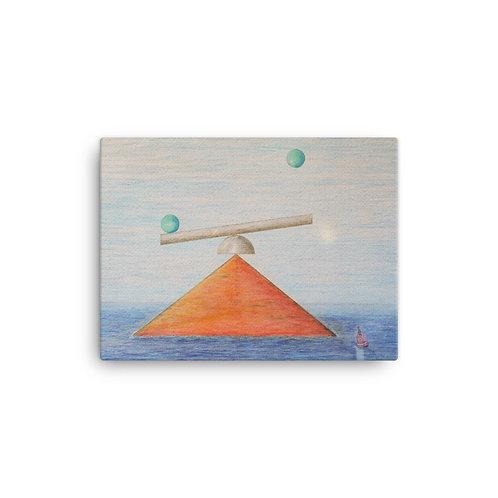 "12X16 ""Tetrahedron Rising"""