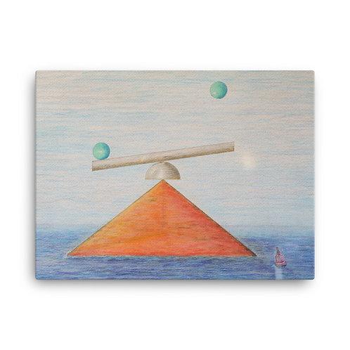 "18X24 ""Tetrahedron Rising"""
