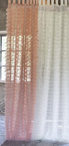 Armonia - Tenda balze 150x290 rosa