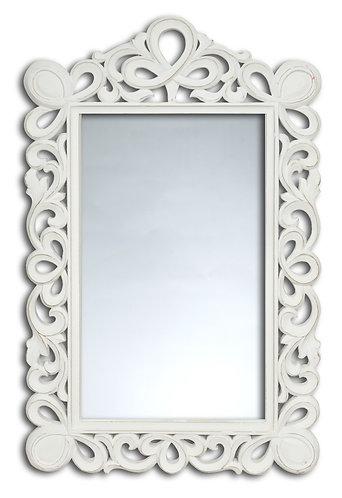 Specchi Blanc - Specchio cornice intagliata