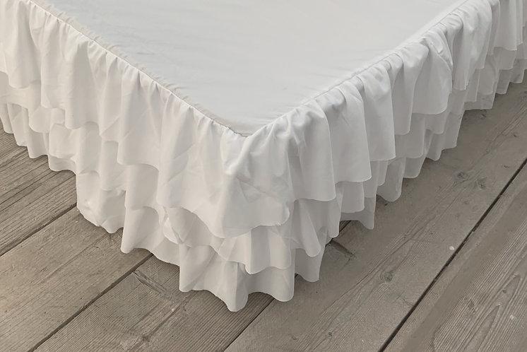 Ruffle - Vestimento matrimoniale bianco