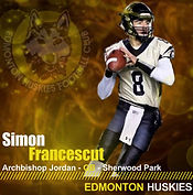Francescut, Simon 2019 Huskies