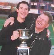 Adam Skitsko Canadian Bowl 2005 with Dad